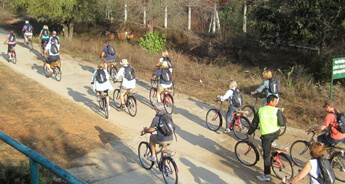 Bharatpur - Jaipur Cycling Tour
