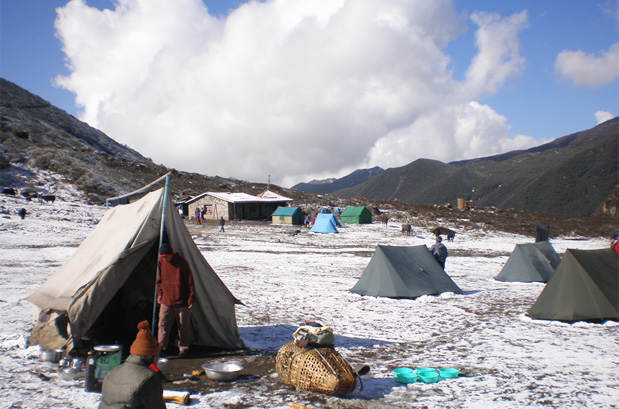 Camp Site at Thansing