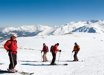 Powder Skiing Tour Gulmarg