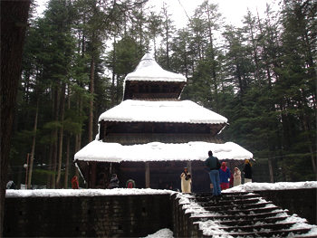 Hadimba Temple Kullu Manali