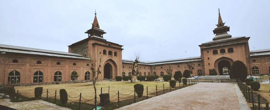 Jama Masjid Srinagar - Biggest Mosque in Kashmir Valley