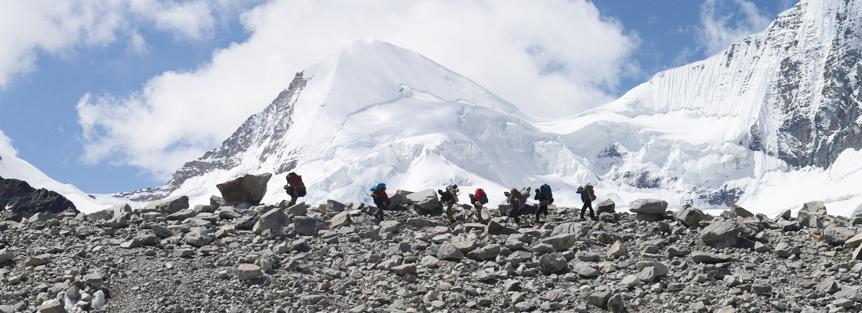 Trek to Kalindikhal Pass in Garhwal Himalayas