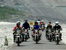 Motor Biking in Kashmir