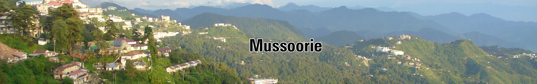 Mussoorie Hill Station Tour Packages