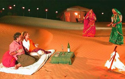 Romantic Evening in Rajasthan