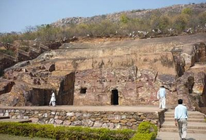 Rock-cut Cave in Rajgir