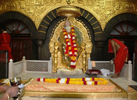 Shirdi Sai Baba Temple in Maharastra