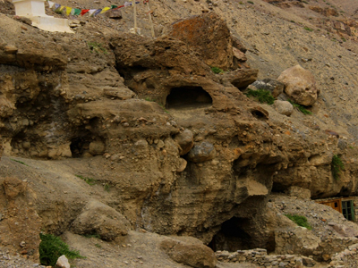 Tabo Caves Lahaul and Spiti