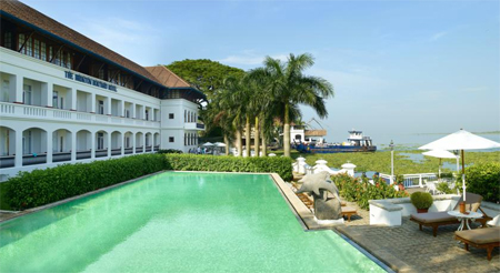 The Brunton Boatyard Hotel, Cochin