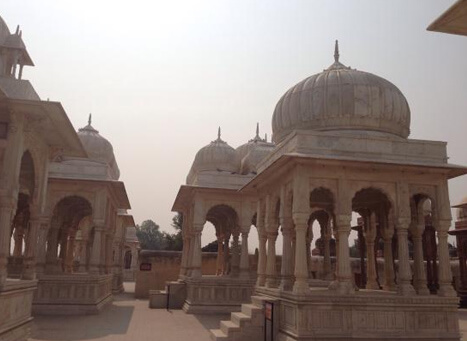 The Royal Cenotaphs Bikaner, Rajasthan