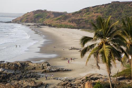 Vagator Beach Goa Vagator Beach Tour Amp Travel Guide