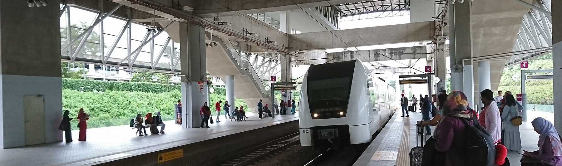 Putrajaya-Sentral, Malaysia