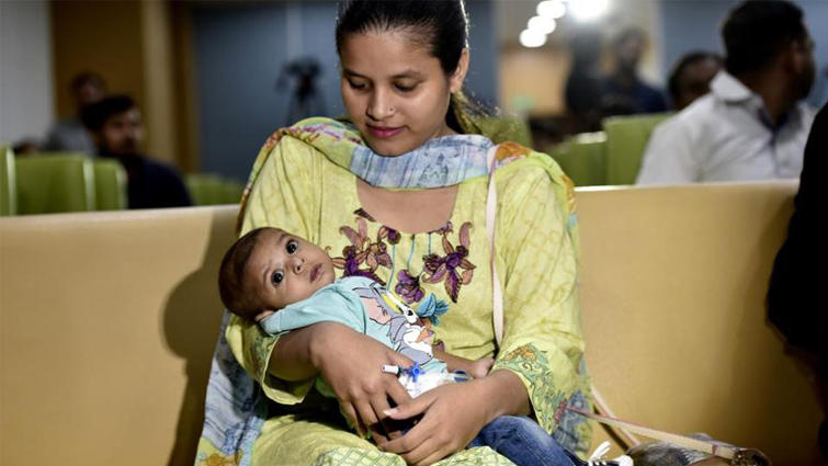 Indian Hospital Blessed Pakistani Infant with a New Life