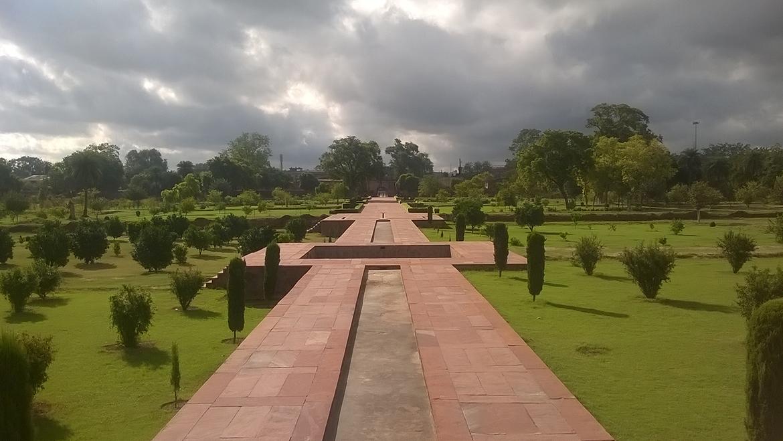 Image result for ram bagh agra