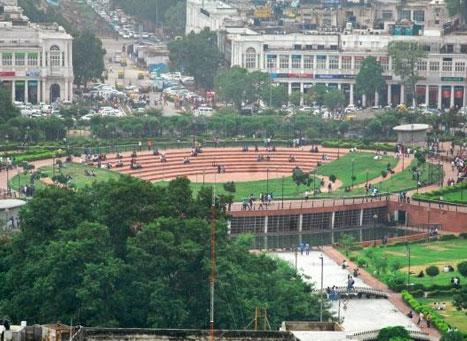Central Park in Delhi