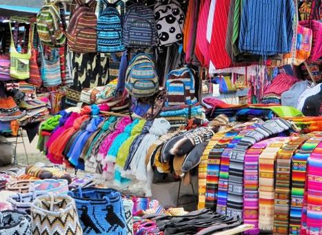 Cloakroom in Sarojini Market