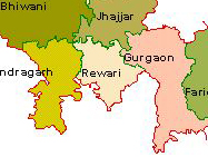 Tourist Map of Haryana to Travel in The State