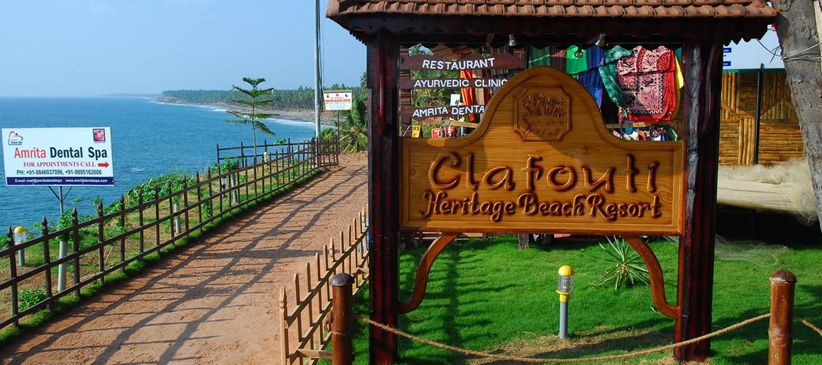 Clafouti Beach Resort Varkala