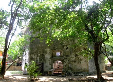 Image result for Pallippuram Fort kerala