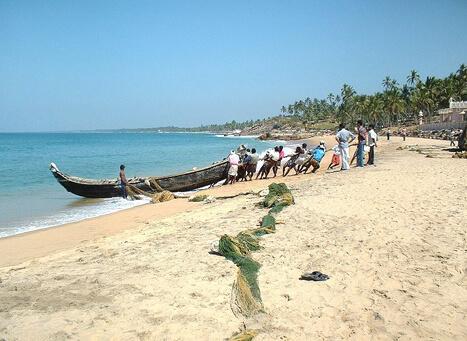 Samudra Beach Karamana River Kovalam