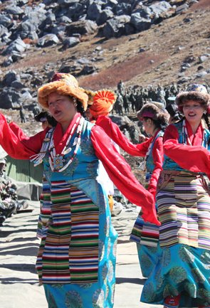 Folk Dance in Sikkim