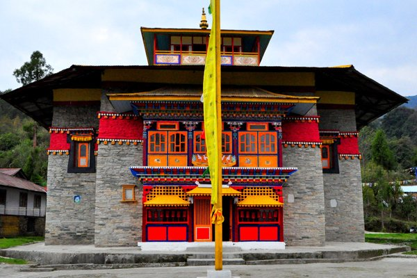 Labrang Monastery in Sikkim