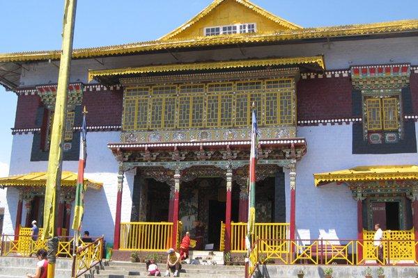 Pemayangtse Monastery in Pelling, Sikkim