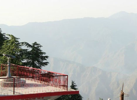 Lal Tibba In Mussoorie Major Tourist Attraction In