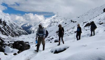 Trekking in December