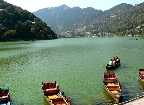 describe the beauty of nainital